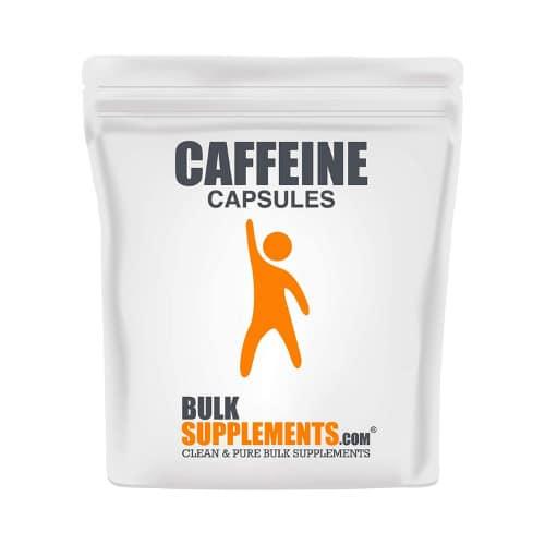 Bulksupplements Pure Caffeine Capsules