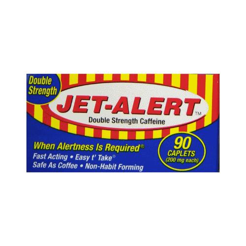 Jet Alert Double Strength Alertness Aid