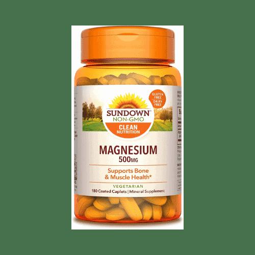 Sundown Magnesium Supplements