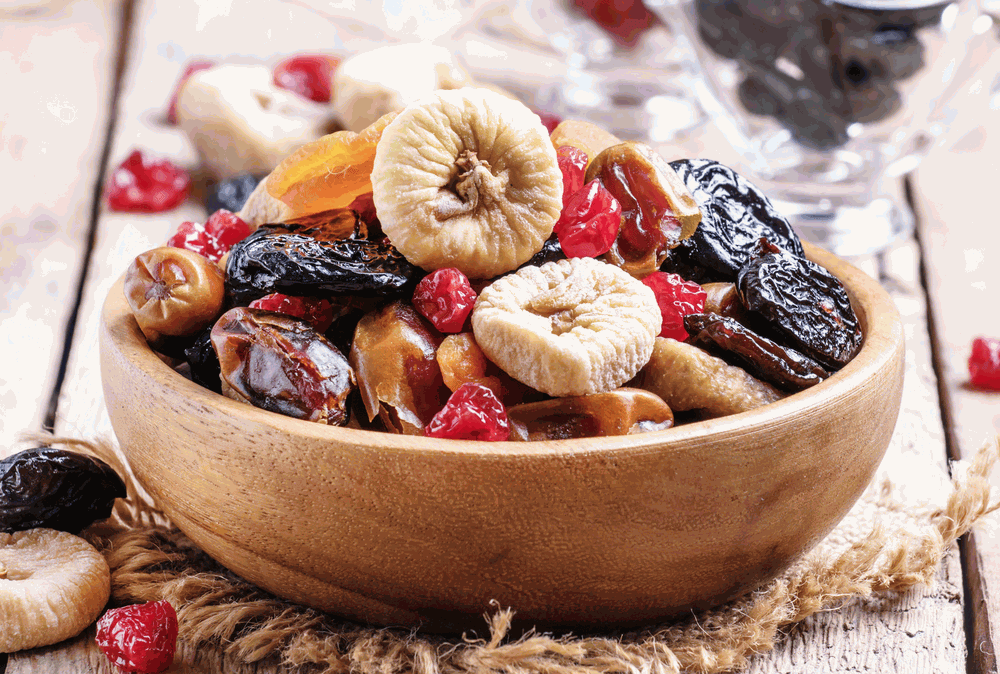 best dried fruits in a bowl