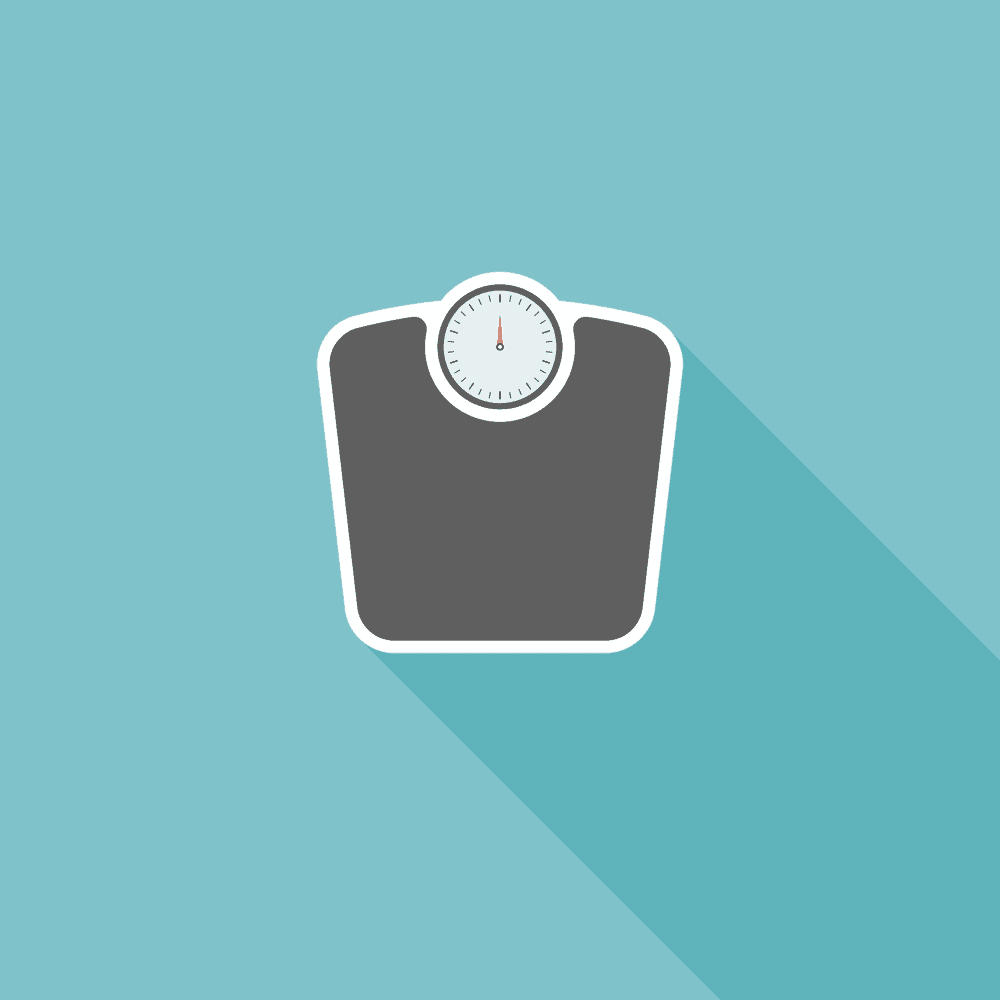 weight loss machine with a meter
